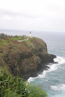 Free Lighthouse On Kauai Stock Photos - 2244633