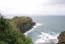Free Lighthouse On Kauai Island. Stock Photo - 2244650