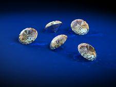 Free Brilliants Diamonds Royalty Free Stock Photography - 2245347