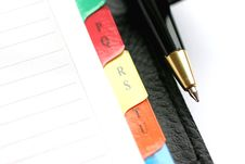Free Address Book Royalty Free Stock Images - 2245649