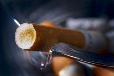 Free Used Mouthpiece Of Cigarette Stock Image - 2245941