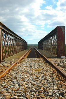 Free Railway Tracks Royalty Free Stock Image - 2246026