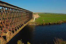 Iron Rail Bridge Royalty Free Stock Photo