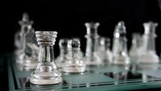 Free Chess -Alone In The Corner Stock Images - 2246484