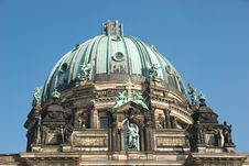 Free Dome Of The Berliner Dom Royalty Free Stock Photography - 2246747