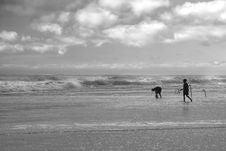 Free Tide Fishing Stock Photography - 2247042