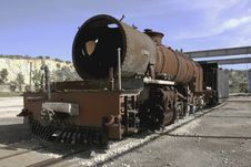 Old Steam Engine Royalty Free Stock Photo