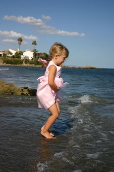Free Jumping The Waves Royalty Free Stock Photo - 2248245