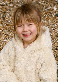 Free Girl On Beach Royalty Free Stock Images - 2248449