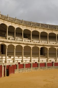 Free Bullfighting Stadium Royalty Free Stock Image - 2248636