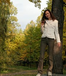 Free Girl And Nature Stock Photo - 2248980