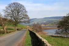 Gouthwaite Reservoir Stock Photography