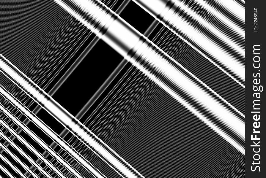 Diagonal Lines Pattern Black