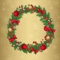 Free Christmas Wreath Stock Photo - 22403670