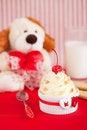 Free Valentine S Day Dessert Stock Photo - 22407550