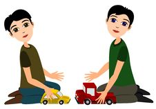 Free Playing Toy Car Royalty Free Stock Photography - 22406667