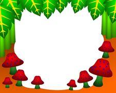 Free Shroom Frame Royalty Free Stock Photos - 22406698