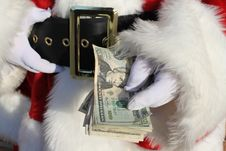 Free Rich Santa Royalty Free Stock Photo - 22406705