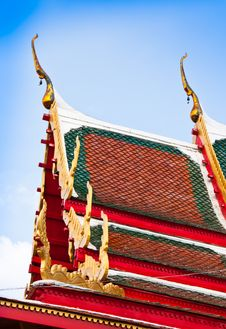 Free Temple In Thailand Stock Photography - 22407592