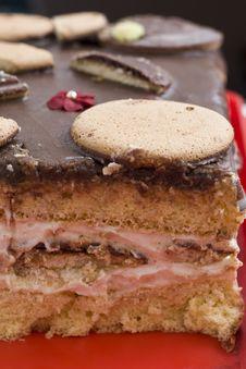 Free Chocolate Cake Royalty Free Stock Image - 22409086