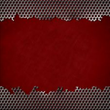 Free Perforated Metal Background Stock Photos - 22409173