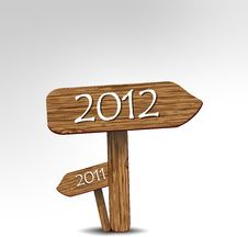 Free Here Comes The New Year Royalty Free Stock Image - 22409726