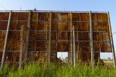 Rusty Billboard Royalty Free Stock Photography