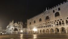 Free Piazza San Marco On Foggy Night Stock Image - 22412571