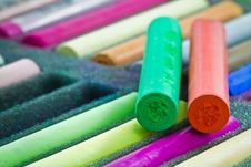 Free Pastel Sticks Stock Photography - 22412882
