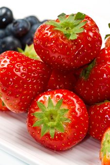 Free Fresh Ripe Strawberry Stock Photos - 22415963