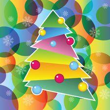 Free Christmas Tree Stock Photography - 22416002
