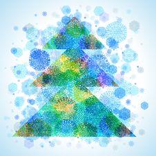 Free Christmas Tree Royalty Free Stock Photos - 22416188