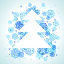 Free Christmas Tree Royalty Free Stock Images - 22416189
