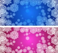 Free Snowflakes Royalty Free Stock Photo - 22416345
