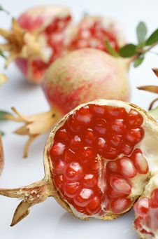Free Pomegranate Stock Images - 22416384
