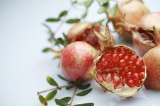 Free Pomegranate Stock Photography - 22416442