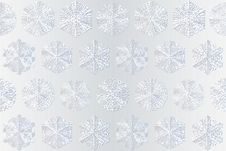 Free Snowflakes On White Background Royalty Free Stock Images - 22416669