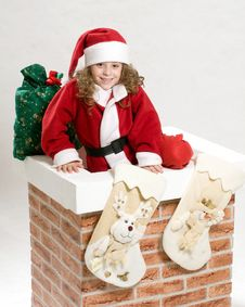 Free Portrait Of Christmas Stock Image - 22417061