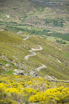 Free Multiple S Road At Gredos Mountains Stock Image - 22417311