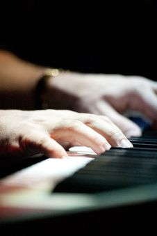 Free Playing The Piano. Stock Photography - 22420752