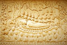 Free Buddha S Death. Stock Photography - 22421802