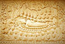 Free Buddha S Death. Stock Photography - 22421802