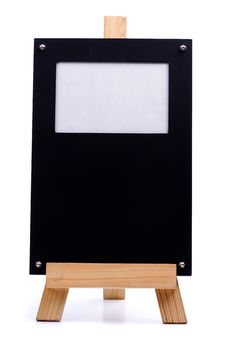 Chalk Board Photo Frame Stock Images