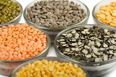 Free Grains Pulses And Beans Stock Image - 22422321