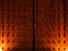 Free Chinese Wooden Door Royalty Free Stock Photography - 22423427
