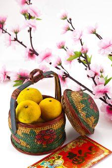 Free Chinese New Year Decoration Royalty Free Stock Image - 22428406