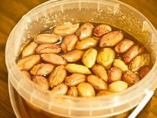 Free Nuts In Hohey Stock Photography - 22428912