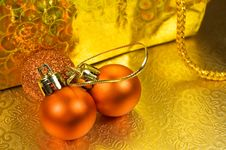 Free Christmas Balls Royalty Free Stock Photo - 22430345