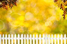 Free White Fence Stock Image - 22430561
