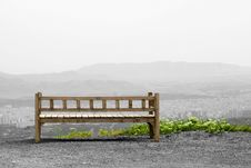 Free Bench On Hill Stock Photos - 22430573